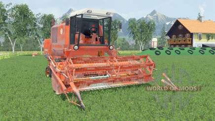 Bizon Super Z056 smashed pumpkin pour Farming Simulator 2015