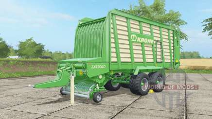 Krone ZX 450 GD malachite für Farming Simulator 2017