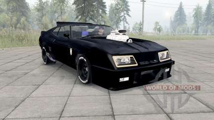 Ford Falcon GT Pursuit Special V8 Interceptor pour Spin Tires