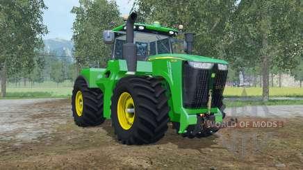 John Deere 9620R fronthydraulic pour Farming Simulator 2015