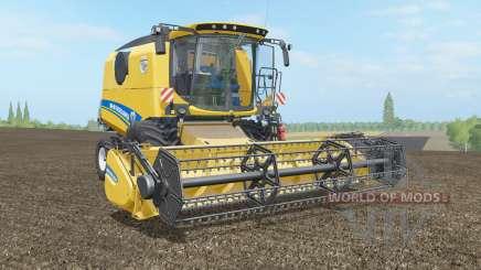New Holland TC4.90 & Varifeed 18FT pour Farming Simulator 2017