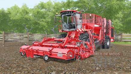 Holmer Terra Dos T4-30 with grubbers HR pour Farming Simulator 2017