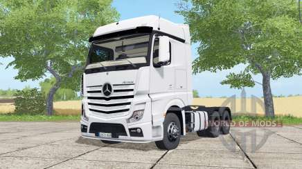 Mercedes-Benz Actros LS BigSpace (MP4) pour Farming Simulator 2017