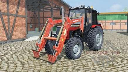MTZ-820.2 Biélorussie avec chargeur pour Farming Simulator 2013