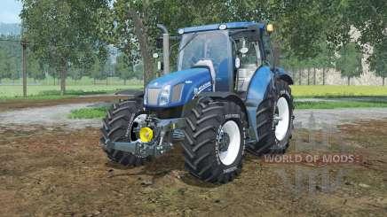 New Holland T6.160 lowering tire pressure für Farming Simulator 2015