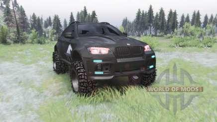 BMW X6 M (E71) BORZ pour Spin Tires