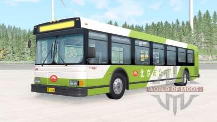 Wentward DT40L Green Beijing Bus pour BeamNG Drive