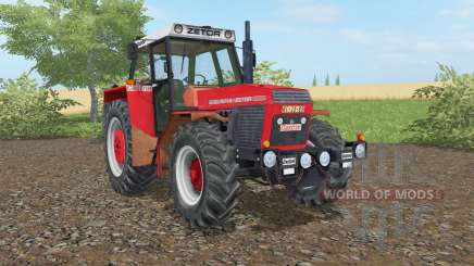 Zetor 16145 light brilliant red für Farming Simulator 2017