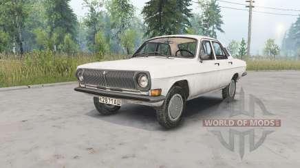 GAZ-24 Vola pour Spin Tires