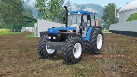 Ford 7840 rich electric blue pour Farming Simulator 2015
