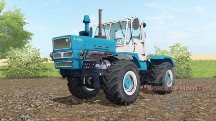 T-150K Bondi de couleur bleu pour Farming Simulator 2017