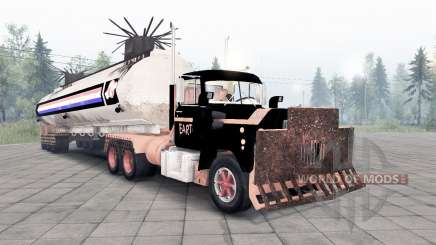 Mack R600 The Tanker pour Spin Tires