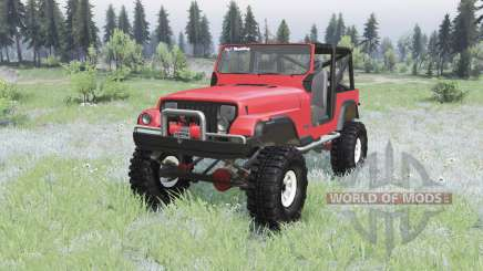 Jeep Wrangler (YJ) 1989 pour Spin Tires