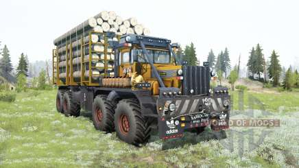 Kirovets K-700A 8x8 für MudRunner
