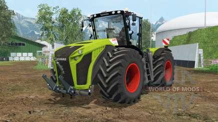 Claas Xerion 5000 Trac VC wheel shader pour Farming Simulator 2015