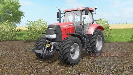 Case IH Puma 160 CVX deep carmine pink pour Farming Simulator 2017