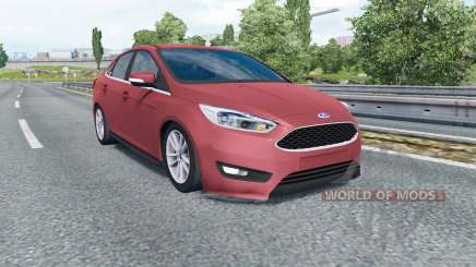 Ford Focus sedan (DYB) 2015 für Euro Truck Simulator 2