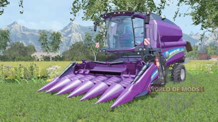 New Holland TC5.90 with two cutters pour Farming Simulator 2015