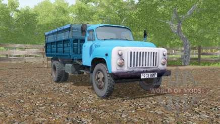 GAZ-SAZ-3507, de couleur bleu pour Farming Simulator 2017