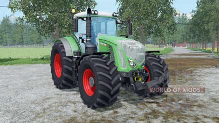Fendt 936 Vario weights wheels pour Farming Simulator 2015