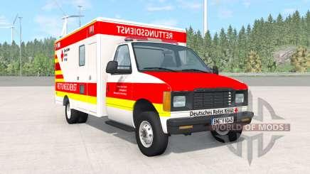 Gavril H-Series German Ambulance v1.3 pour BeamNG Drive