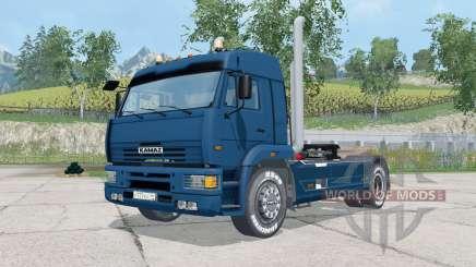 KamAZ-5460 couleur bleu foncé pour Farming Simulator 2015