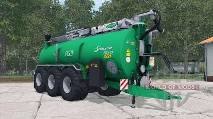 Samson PGII 27 shamrock green für Farming Simulator 2015