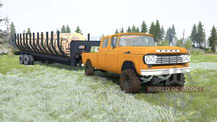 Ford F-350 Crew Cab 1959 pour MudRunner
