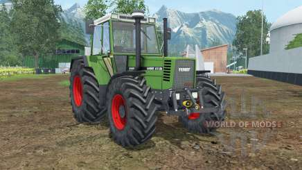 Fendt Favorit 615 LSA Turbomatik E pour Farming Simulator 2015