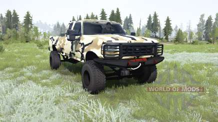 Ford F-350 Super Duty Extended Cab pour MudRunner