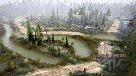 Forstwirtschaft Pushkino-4 für MudRunner