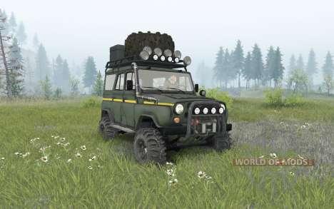 UAZ-31514 pour Spin Tires