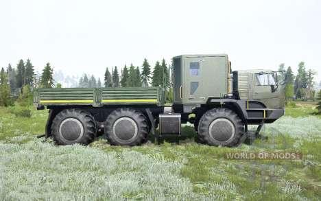 KamAZ-6345 De L'Arctique pour Spintires MudRunner
