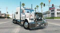 Peterbilt 389 rose white pour American Truck Simulator