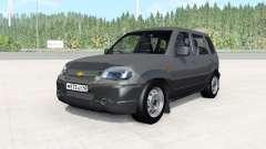 Chevrolet Niva dark grey für BeamNG Drive
