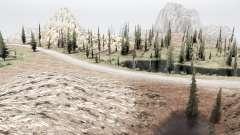 Sur la frontière de l'Utah et du Nevada pour MudRunner