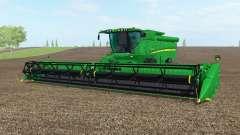 John Deere S690i le nord du texas greeᶇ pour Farming Simulator 2017