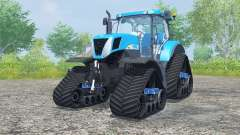 New Holland T7030 track systems pour Farming Simulator 2013