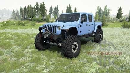 Jeep Gladiator (JT) 2019 pour MudRunner
