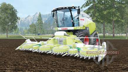 Claas Jaguar 870 june bud pour Farming Simulator 2015