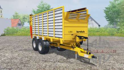 Veenhuis W400 deep lemon pour Farming Simulator 2013