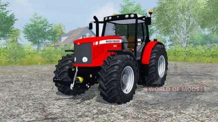 Massey Ferguson 6480 pour Farming Simulator 2013