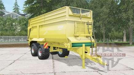 Krampe Bandit 750 arylide yellow für Farming Simulator 2015