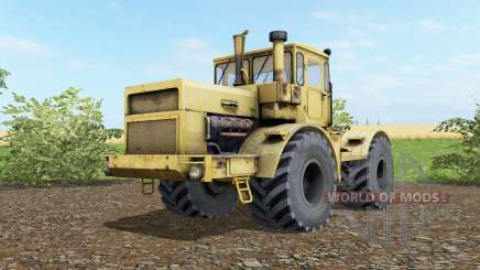 Kirovets K-700a variateur électronique jaune doux gombo pour Farming Simulator 2017