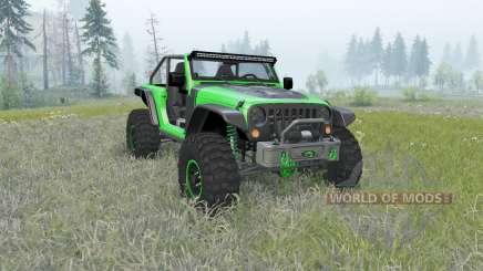 Jeep Wrangler (JK) Trailcat für Spin Tires