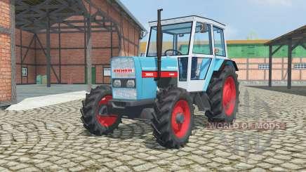 Eicher 3066A dark turquoise pour Farming Simulator 2013