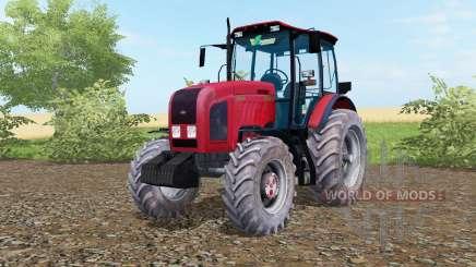 MTZ-Biélorussie 2022.3 de couleur rouge vif pour Farming Simulator 2017