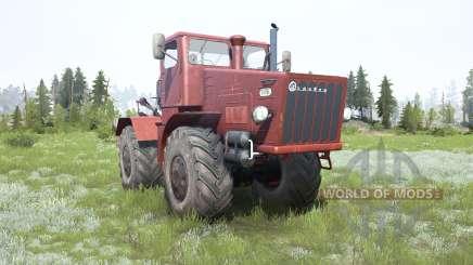 Kirovets K-700 soft red Farbe für MudRunner