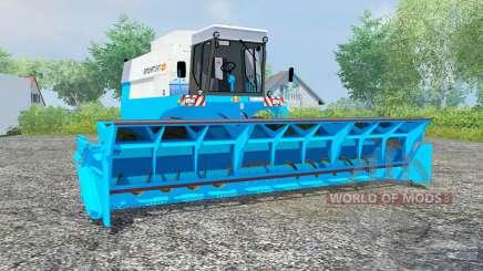 Fortschritt E 517 vivid sky blue pour Farming Simulator 2013
