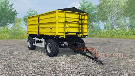 Wielton PRS-2-W14 safety yellow pour Farming Simulator 2013